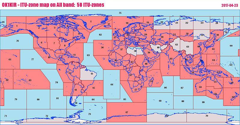 OK1KIR LOGs & Statistics, 1296 MHz,