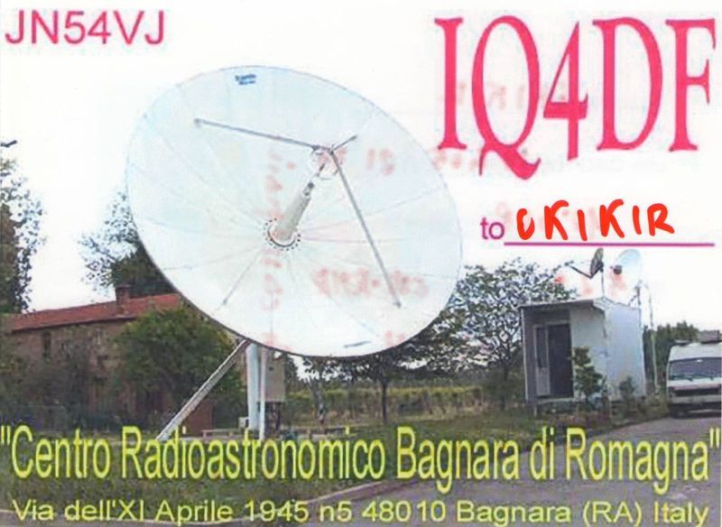 OK1KIR Gallery: 10 GHz, Images of stations, IQ4DF
