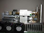 New 24 GHz transverter – rear view during construction.