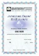 2002 Kepler Award - EME conference at Prague