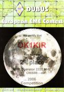 2006 2.3 GHz European EME Contest