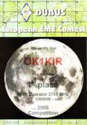 2006 5.7 GHz European EME Contest