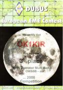 2006 multi band European EME Contest