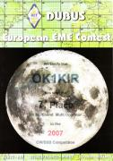 2007 multi band European EME Contest