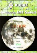 2008 2.3 GHz European EME Contest