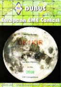 2008 multi band European EME Contest