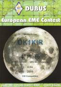 2009 multi band European EME Contest