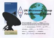 First GM-OK 9 cm EME Contact Award