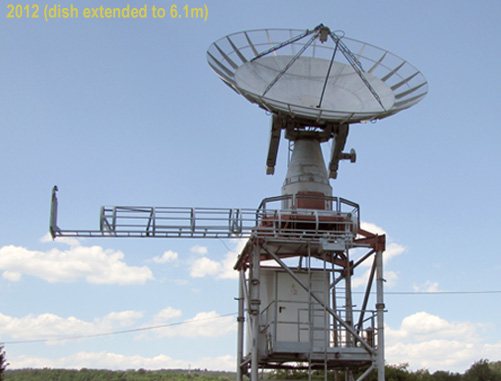 Extended dish
